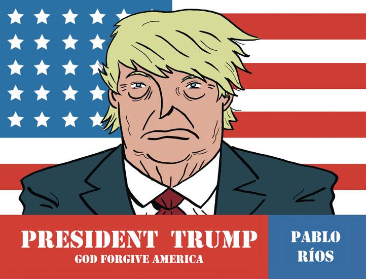 President Trump - God forgive America - cover