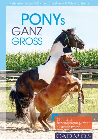Ponys ganz groß - Originelle Beschäftigungsideen für kleine Pferde - cover
