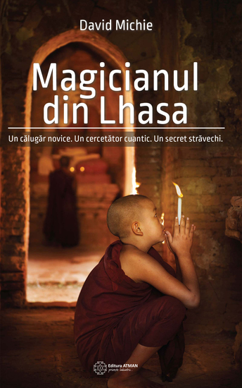 Magicianul din Lhasa - cover