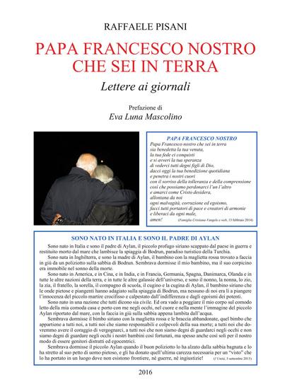 Papa Francesco nostro che sei in terra - Lettere ai giornali - cover