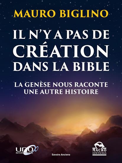 Il n'y a pas de création dans la Bible - la genèse nous raconte une autre histoire - cover