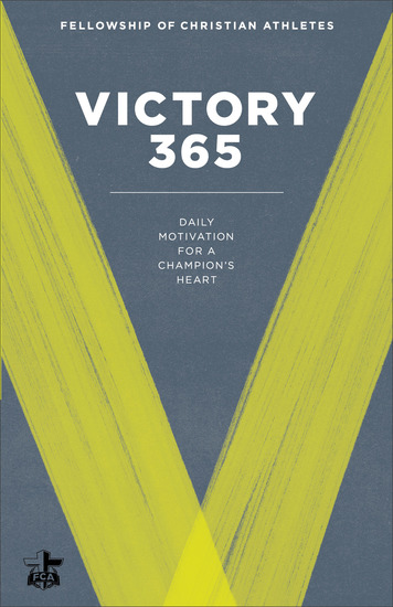 Victory 365 - Daily Motivation for a Champion's Heart - cover