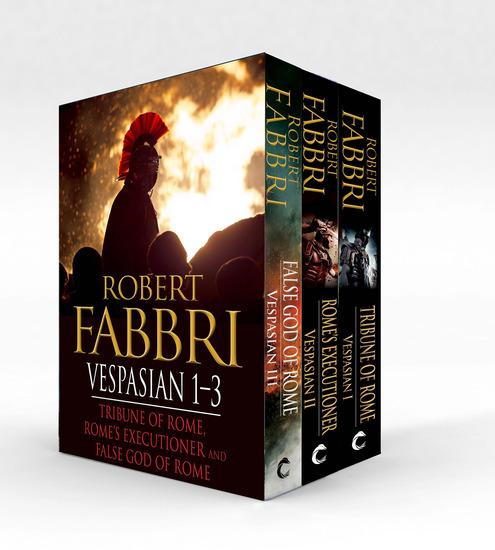 Vespasian 1-3 - Tribune of Rome Rome's Executioner False God of Rome - cover