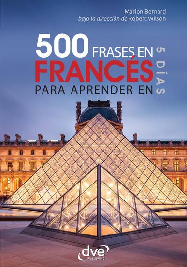 500 frases de francés para aprender en 5 días - cover