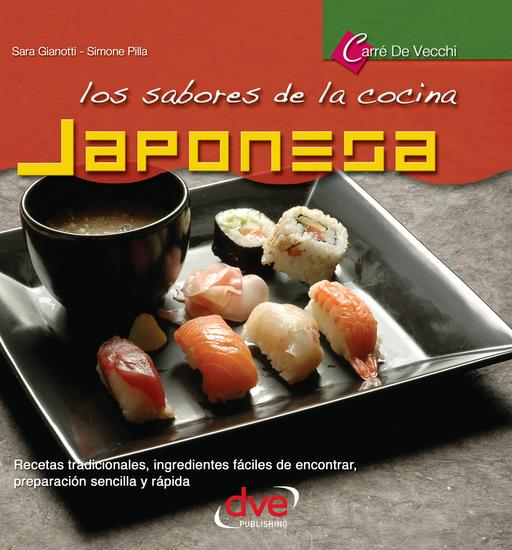 Los sabores de la cocina japonesa - cover