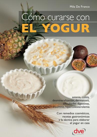 Cómo curarse con el yogur - cover