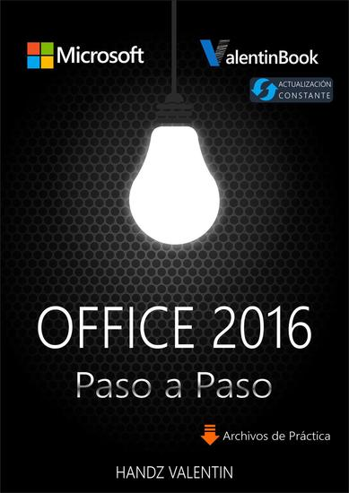 Office 2016 Paso a Paso (MOBI + EPUB + PDF) - cover