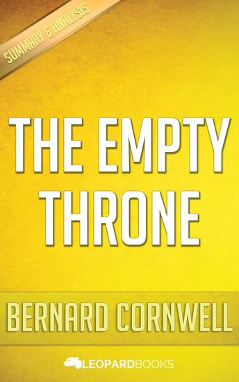 The Empty Throne by Bernard Cornwell - cover