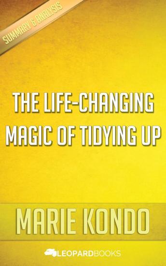 The Life-Changing Magic of Tidying Up by Marie Kondo - cover