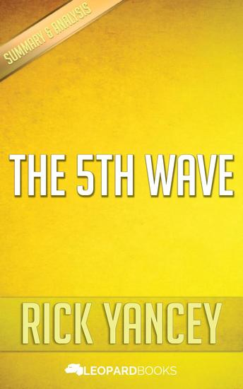 The 5th Wave by Rick Yancey - cover