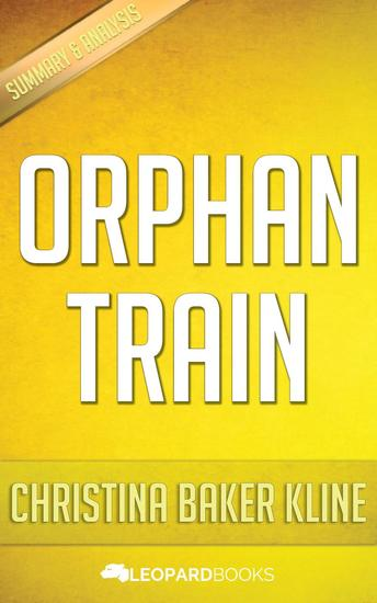 Orphan Train by Christina Baker Kline - cover