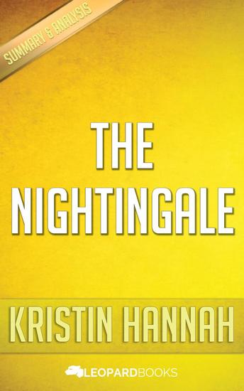 The Nightingale by Kristin Hannah - cover