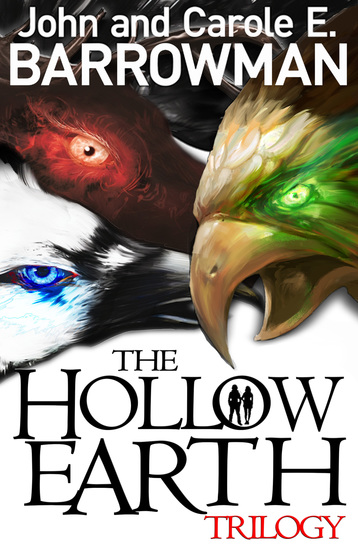Hollow Earth Trilogy - cover
