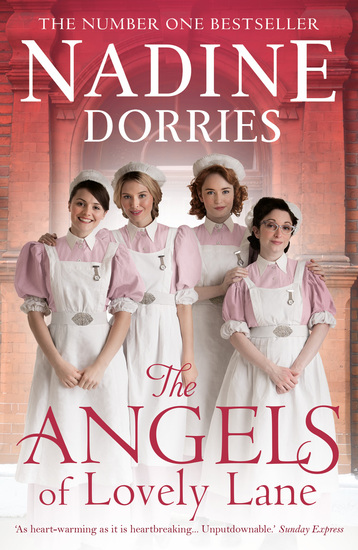The Angels of Lovely Lane - A powerful 1950s nursing saga from the Sunday Times bestseller - cover