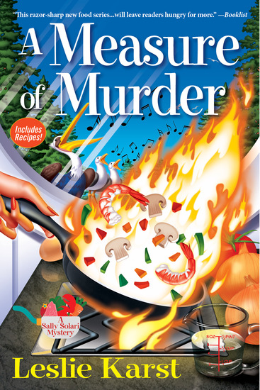 A Measure of Murder - A Sally Solari Mystery - cover