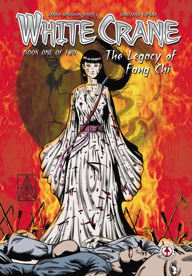 White Crane: The Legacy of Fang Chi - cover