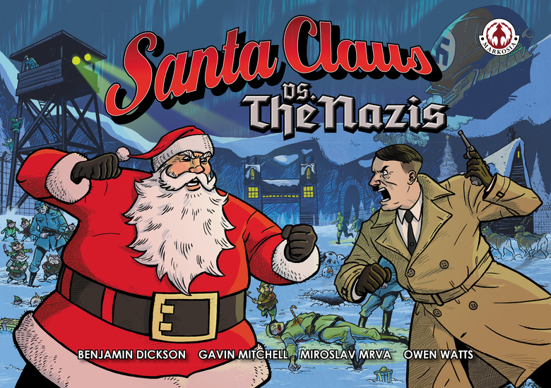 Santa Claus vs The Nazis - cover