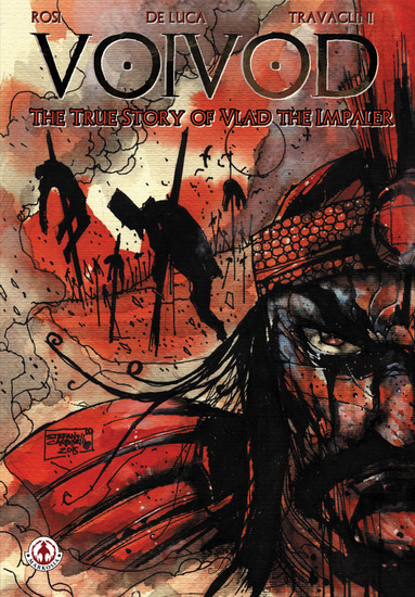 Voivod: The True Story of Vlad the Impaler - cover