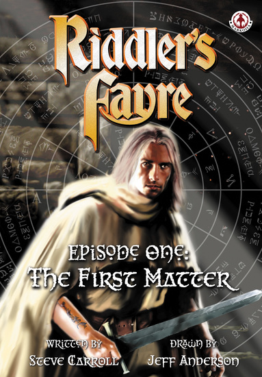 Riddler's Fayre Book 1 - The First Matter - cover
