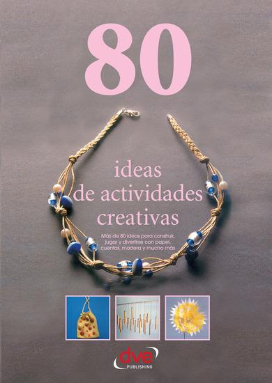 80 ideas de actividades creativas - cover