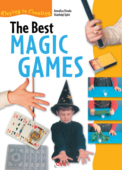 The Best Magic Games - cover