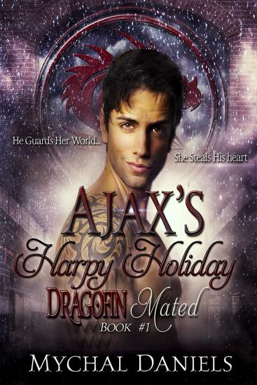 Ajax's Harpy Holiday - Dragofin Clan Mated #1 - cover