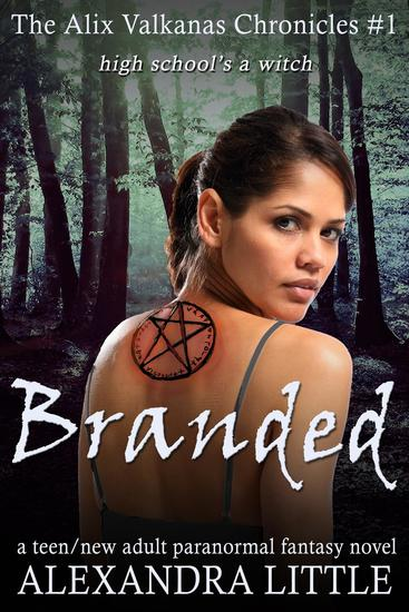 Branded - The Alix Valkanas Chronicles #1 - cover