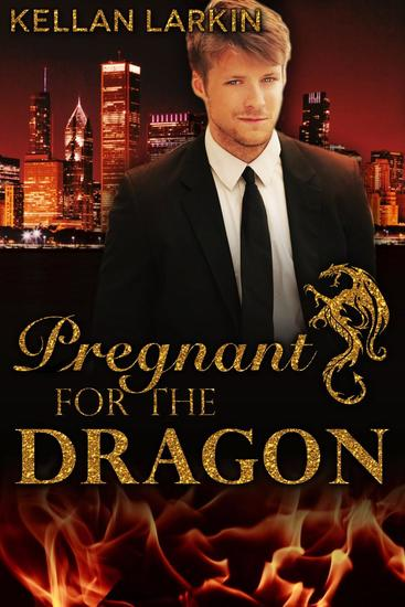 Pregnant for the Dragon - Dragons of Lake City #3 - cover