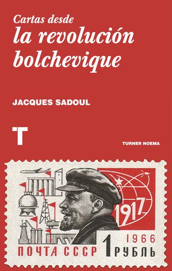 Cartas desde la revolución bolchevique - cover