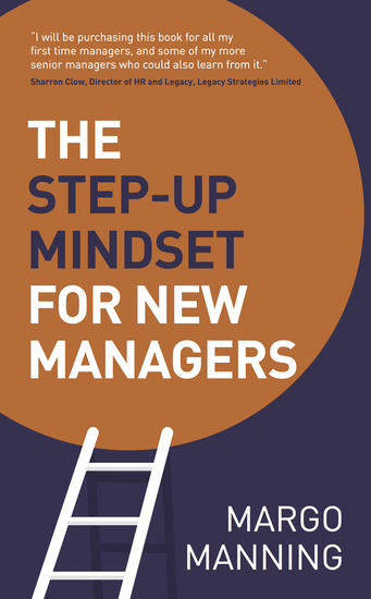 The Step-Up Mindset for New Managers - cover