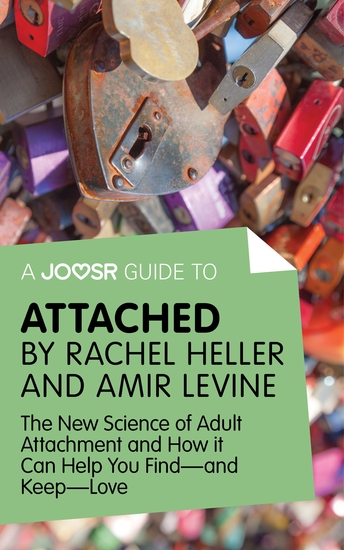 A Joosr Guide to Attached by Rachel Heller and Amir Levine - The New Science of Adult Attachment and How it Can Help You Find—and Keep—Love - cover