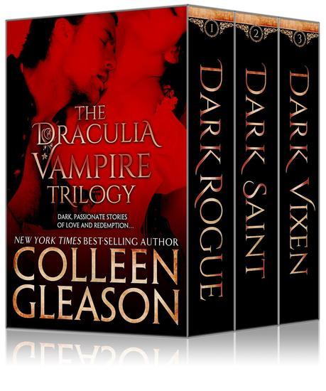 The Draculia Vampire Trilogy - The Draculia Vampire Trilogy - cover