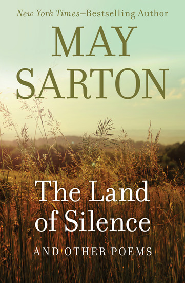 The Land of Silence - And Other Poems - cover