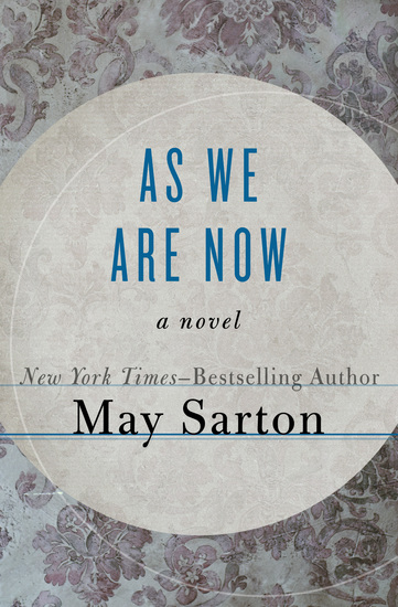 As We Are Now - A Novel - cover