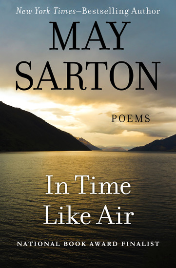 In Time Like Air - Poems - cover