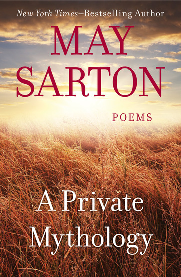A Private Mythology - Poems - cover