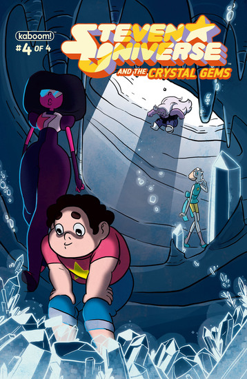 Steven Universe and the Crystal Gems #4 - cover