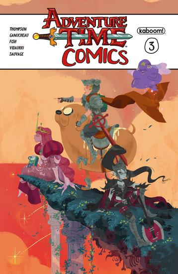 Adventure Time Comics #3 - cover