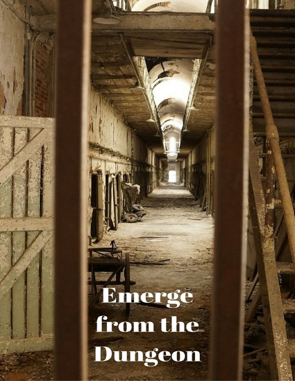 Emerge from the Dungeon - cover