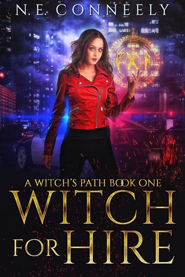 Witch for Hire - Witch's Path Series #1 - cover