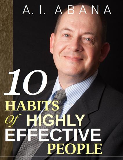 Ten Habits of Highly Effective People - cover