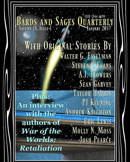 Bards and Sages Quarterly (January 2017) - cover
