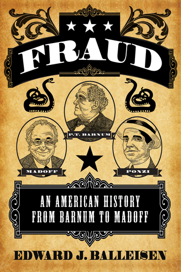 Fraud - An American History from Barnum to Madoff - cover