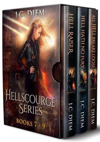 Hellscourge Series: Bundle 3: Books 7 - 9 - cover