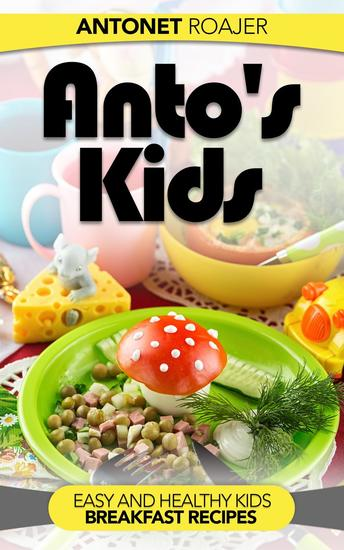 Healthy Kids Breakfast Recipes - cover