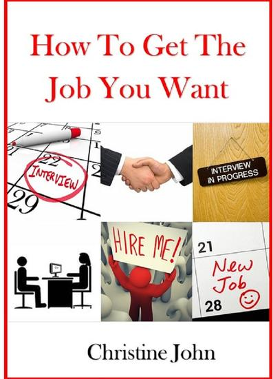 How to Get the Job You Want - cover