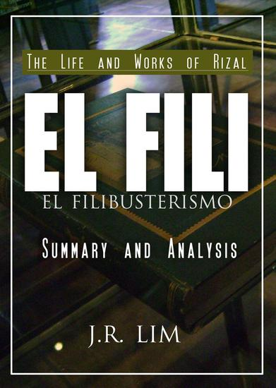 El Filibusterismo: Summary and Analysis - cover