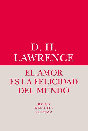 El amor es la felicidad del mundo - cover