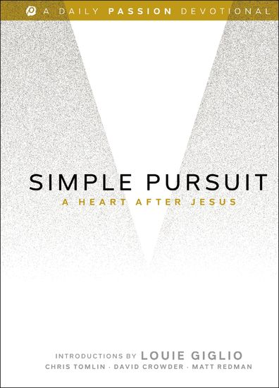 Simple Pursuit - A Heart After Jesus - cover