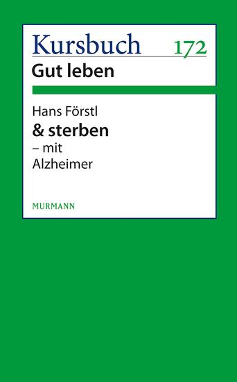 & sterben - mit Alzheimer - cover